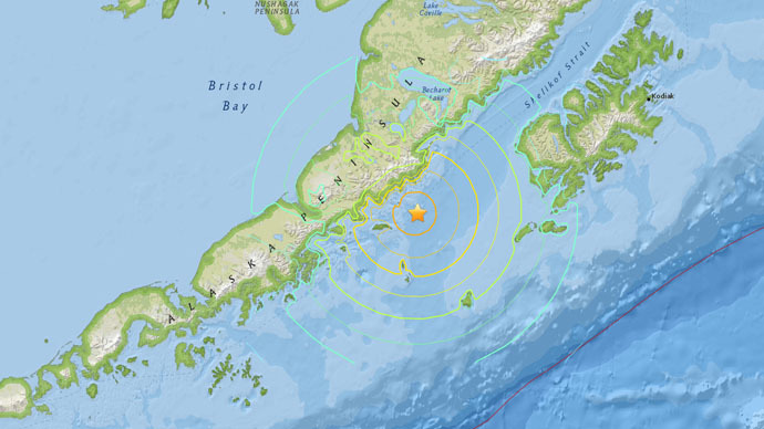 6.8 earthquake strikes off Alaska's southwest coast – USGS