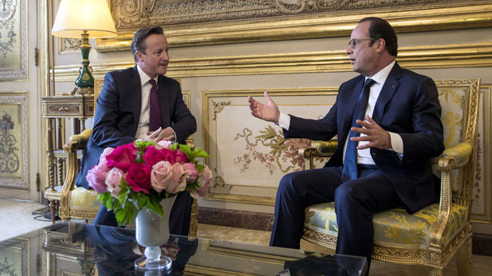 ​Cameron playing 'dangerous' game on EU referendum, says France