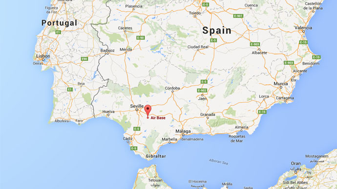Map Of Spain And Us.Us Gets Permanent Stronghold At Spanish Military Base Can Triple