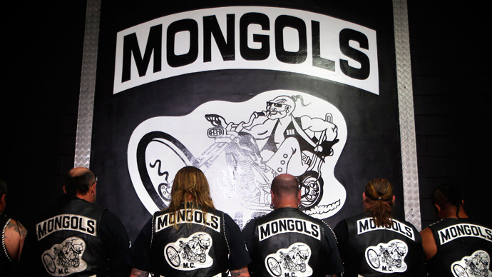 Mongols in peril as feds target biker club's logo
