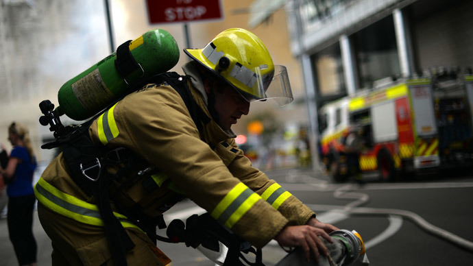 Evacuation as IBM high-rise catches fire in central Brisbane