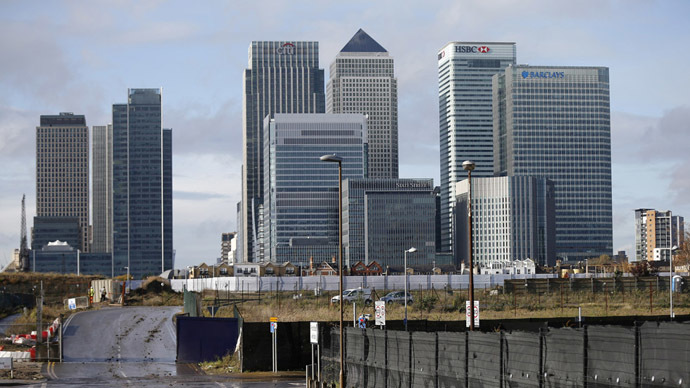 UK banking sector 'extremely vulnerable' to financial crisis, report warns