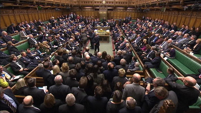 No austerity in Westminster: Expenses watchdog upholds MPs whopping 10% pay rise
