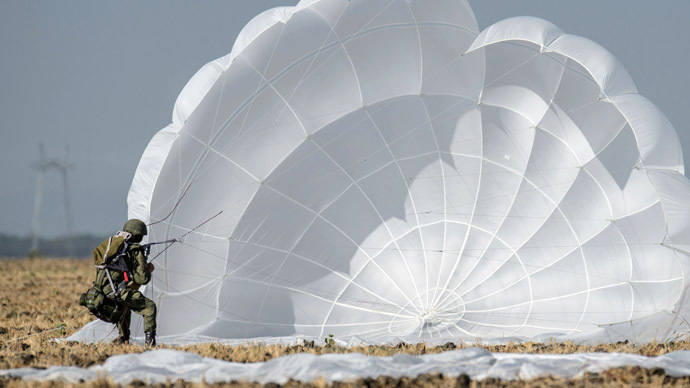 Low altitude parachuting, new APCs: Russian paratroopers to impress at Army-2015 expo