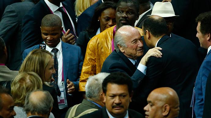 FIFA's Blatter resigns