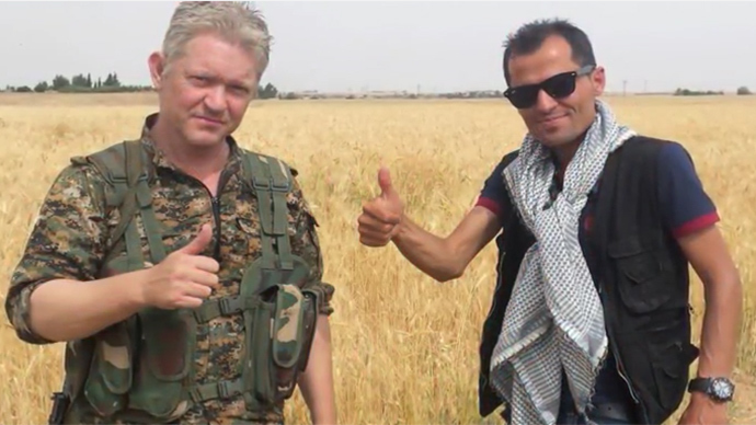'I came to fight': Pirates of the Caribbean actor joins battle against ISIS