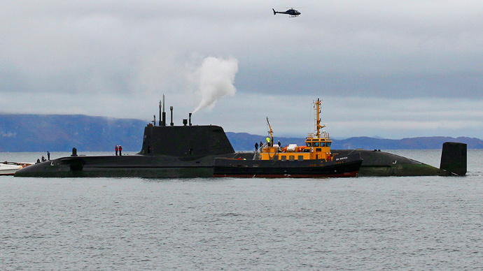 Disused nuclear subs cost UK £16mn in 5 years, pose 'radiation risk'
