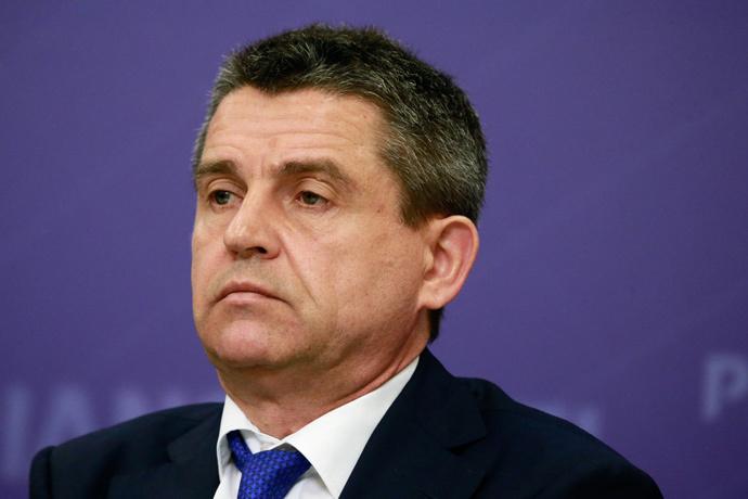 Head of the Media Relations department of the Russian Investigative Committee Vladimir Markin (RIA Novosti / Alexander Natruskin)