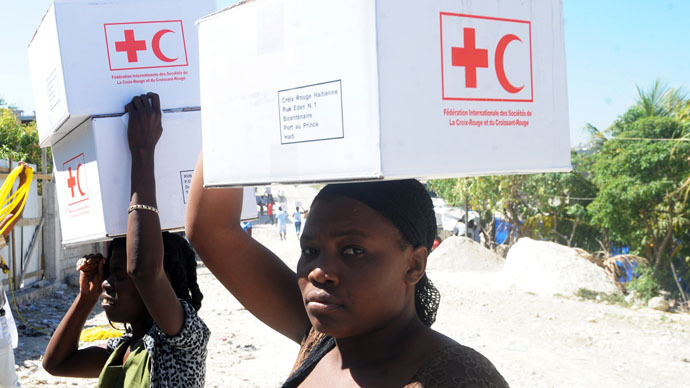 'Where's the $500mn?' Red Cross promises houses for 130,000 Haitians, 'builds only 6'
