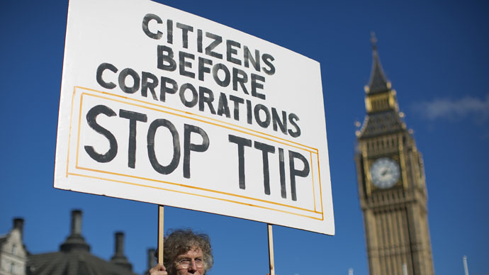 ​TTIP will legalize cancer-causing chemicals banned by EU, trade union warns