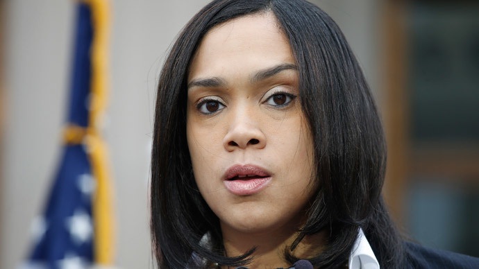 Baltimore prosecutor wants Freddie Gray's autopsy report kept secret