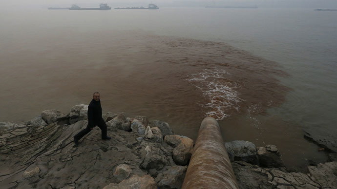 60% of China's underground water 'not fit for human contact' - Beijing