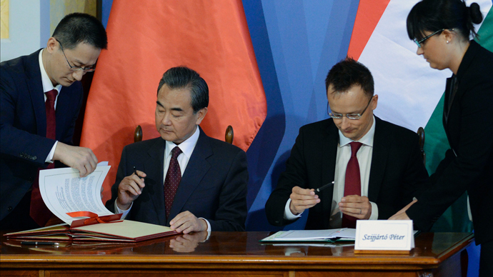 ​Hungary becomes 1st EU country to join China's Silk Road project