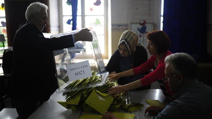 Erdogan's AKP loses majority in Turkish election, pro-Kurdish party enters parliament for 1st time