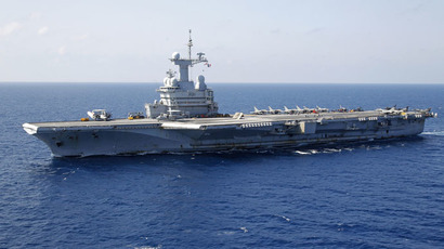 US relies on French warship amid fears of British military decline