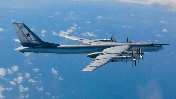 Iconic Russian 'Bear' strategic bombers grounded after one skids off runway, injuring crew