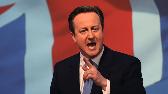 ​'Great Shrinking Britain': Cameron rejects US envoys' jibe as 'nonsense'