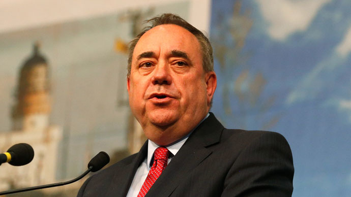 EU referendum bill 'based on nonsense and contradiction' – Salmond
