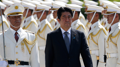 Japan's Prime Minister Shinzo Abe (Reuters / Toru Hanai)