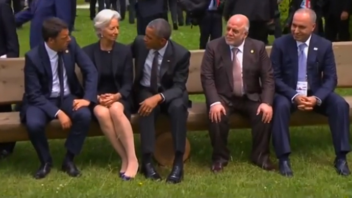 White House accuses media of 'junior high insecurities' after claims Obama snubbed Iraqi PM at G7
