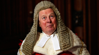 Lord Chief Justice for England and Wales John Thomas (Reuters / Suzanne Plunkett)