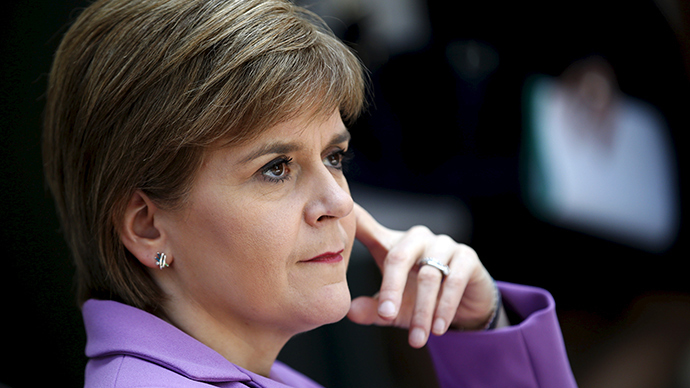 'Obama helped Scottish Nationalists,' claims SNP leader Nicola Sturgeon