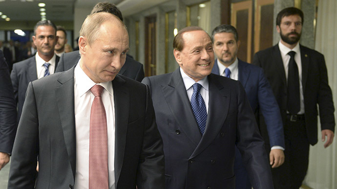 Berlusconi to push for lifting of anti-Russian sanctions