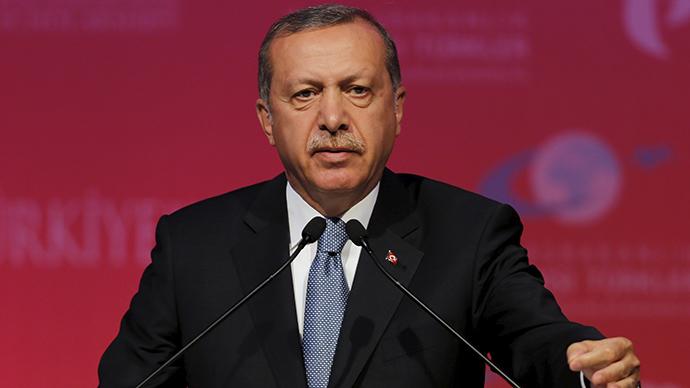 Erdogan blasts West for destabilizing Syria by supporting Kurdish 'terrorists'