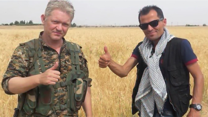 British film actor fighting ISIS in Syria asked to leave, called 'aggressive piece of s**t'