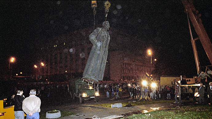 Moscow officials license referendum to restore monument to KGB founder Dzerzhinsky