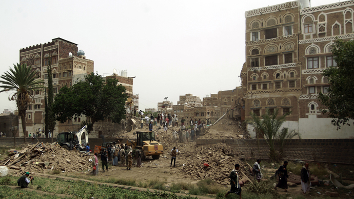 'Profoundly distressing': UNESCO condemns Saudi-led bombing of historic Yemen capital