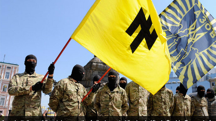 US lawmakers ban aid to Ukraine neo-Nazis