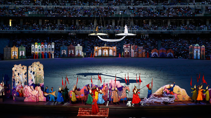 Baku opens European Games with fabulous '$100mn' ceremony (FULL VIDEO)