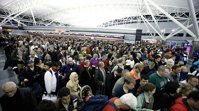 Police, emergency services evacuate Alitalia flight at JFK over 'bomb threat' (PHOTOS)