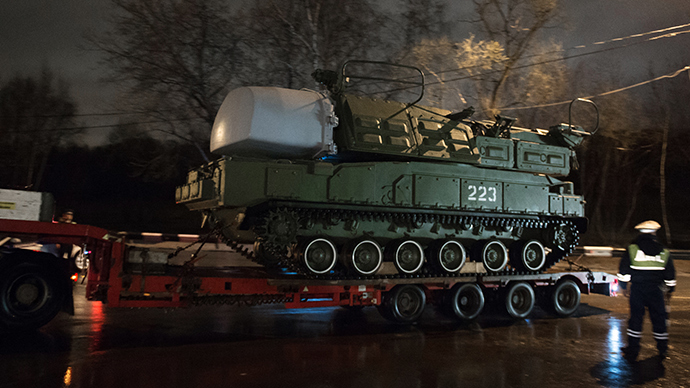 Buk transportation platform (RIA Novosti / Maksim Blinov)
