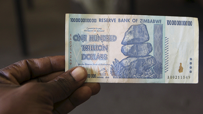Zimbabwe Phases Out Local Currency At 35 Quadrillion To Us 1