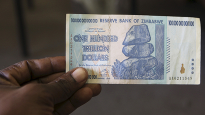 Zimbabwe phases out local currency at 35 quadrillion to US$1