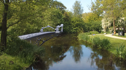 'Unexplored territory': Robots to build 3D-printed bridge across Amsterdam canal