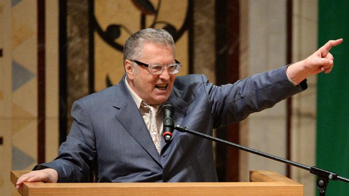 Veteran nationalist politician Zhirinovsky announces presidential ambitions