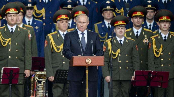 Putin: 40+ ICBMs targeted for 2015 nuclear force boost