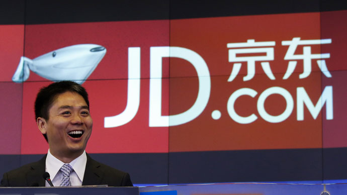 China's second-largest e-commerce company JD.com expands to Russia