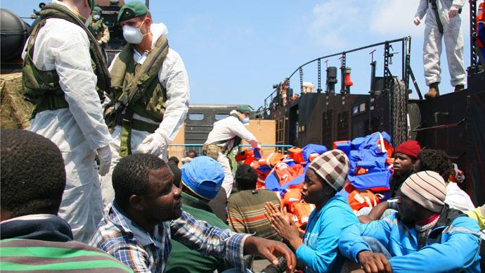 Britain to scrap Royal Navy rescue operations as Mediterranean migrant crisis escalates