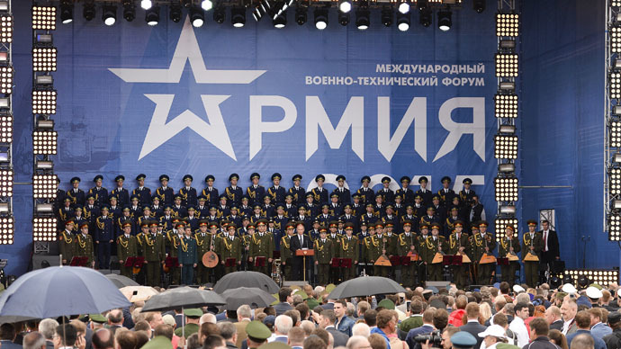 Unprecedented Army-2015 military expo kicks off near Moscow (VIDEO)
