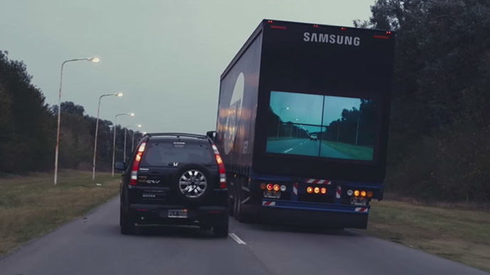'Safety Truck': Back screens on trucks may pave way for safer overtaking (VIDEO)