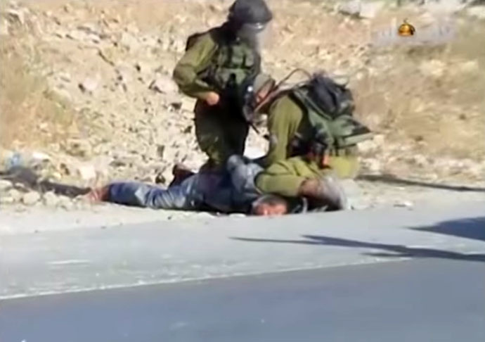 Still from YouTube video/Haaretz.com