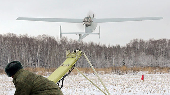 Russian military deploys surveillance drones in Arctic