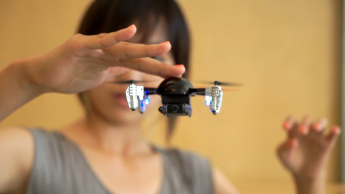 Worlds Smallest Drone Raises Double Its Crowdfunding