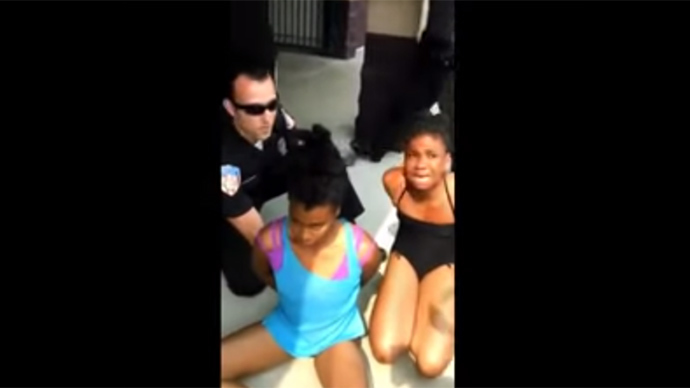 Ohio cops accused of brutality for arresting pregnant woman, 12yo girl at swimming pool