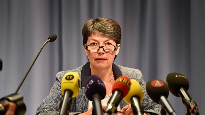Prosecutor Marianne Ny (Reuters / Roger Vikstrom)
