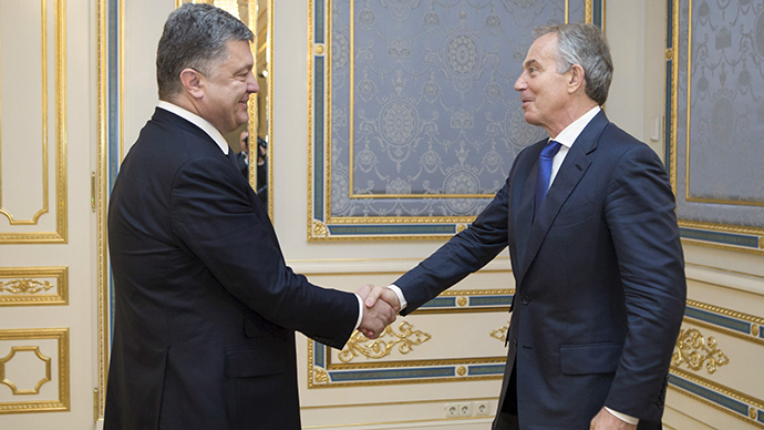 'True friend of Ukraine' Tony Blair tapped by Poroshenko to join Kiev advisory council